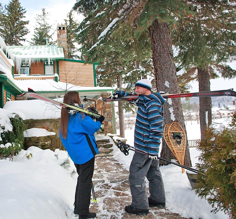 Skiing at Wisp Resort near Deep Creek Lake in Maryland