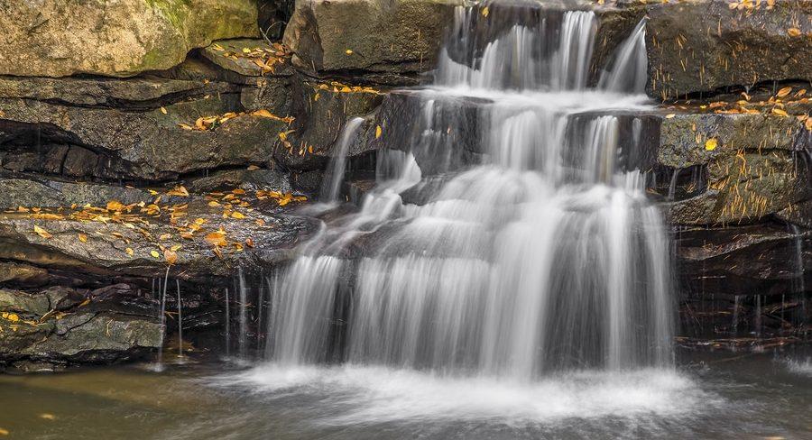Swallow Falls State Park near Deep Creek LAke