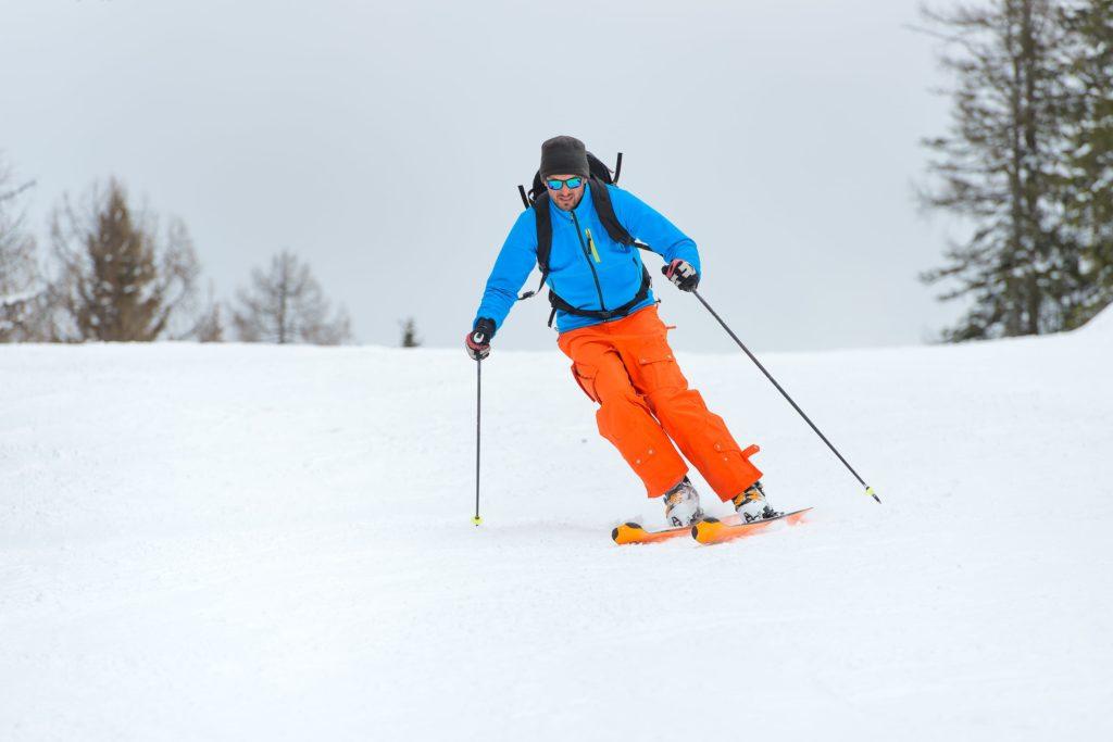 Skiing at Wisp Resort near our Deep Creek Lake Hotel